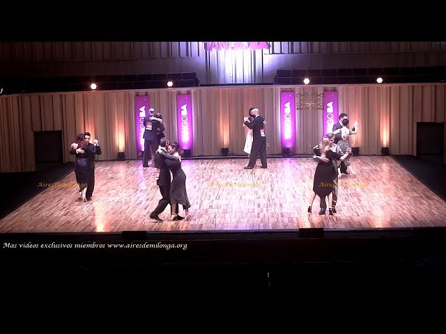 Mundial de tango  2021 Ronda 12 Pista, tema 3de3 Tango Buenos Aires #TangoBA