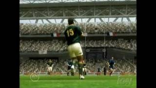 Rugby 06 Xbox Gameplay - Kicks and Hits