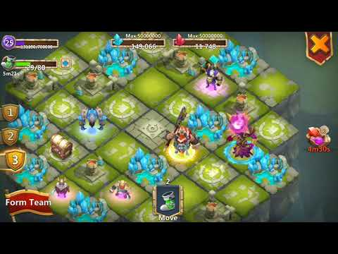 Castle Clash - Lost Realm - Poor Rwrds From Game Mode