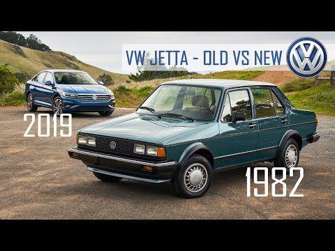 Volkswagen Jetta - 2019 vs 1982