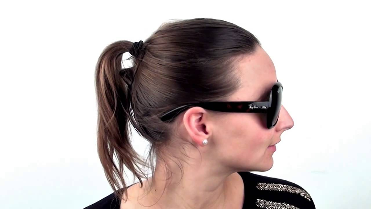 Ray-Ban RB4098 Jackie Ohh II 710 71 Sunglasses - VisionDirect Reviews -  YouTube 9971f7e146d