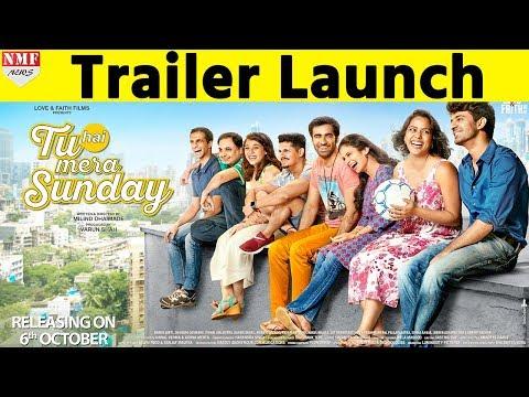 'Tu Hai Mera Sunday' Official trailer Launch| Barun Sobti, Shahana Goswami