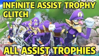 Infinite Assist Trophy Glitch - All Assist Trophies | Super Smash Bros. Ultimate