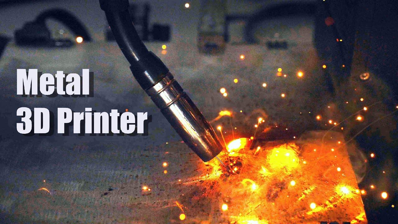 I built a Metal 3D Printer using my Welding Machine