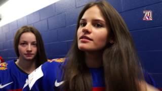 Официальная фотосессия женской сборной России