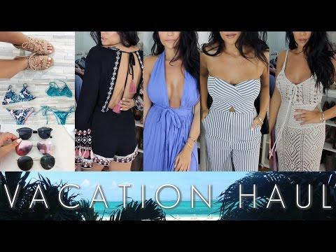 VACATION HAUL: CLOTHES, SWIM, + ACCESSORIES!   Stephanie Ledda