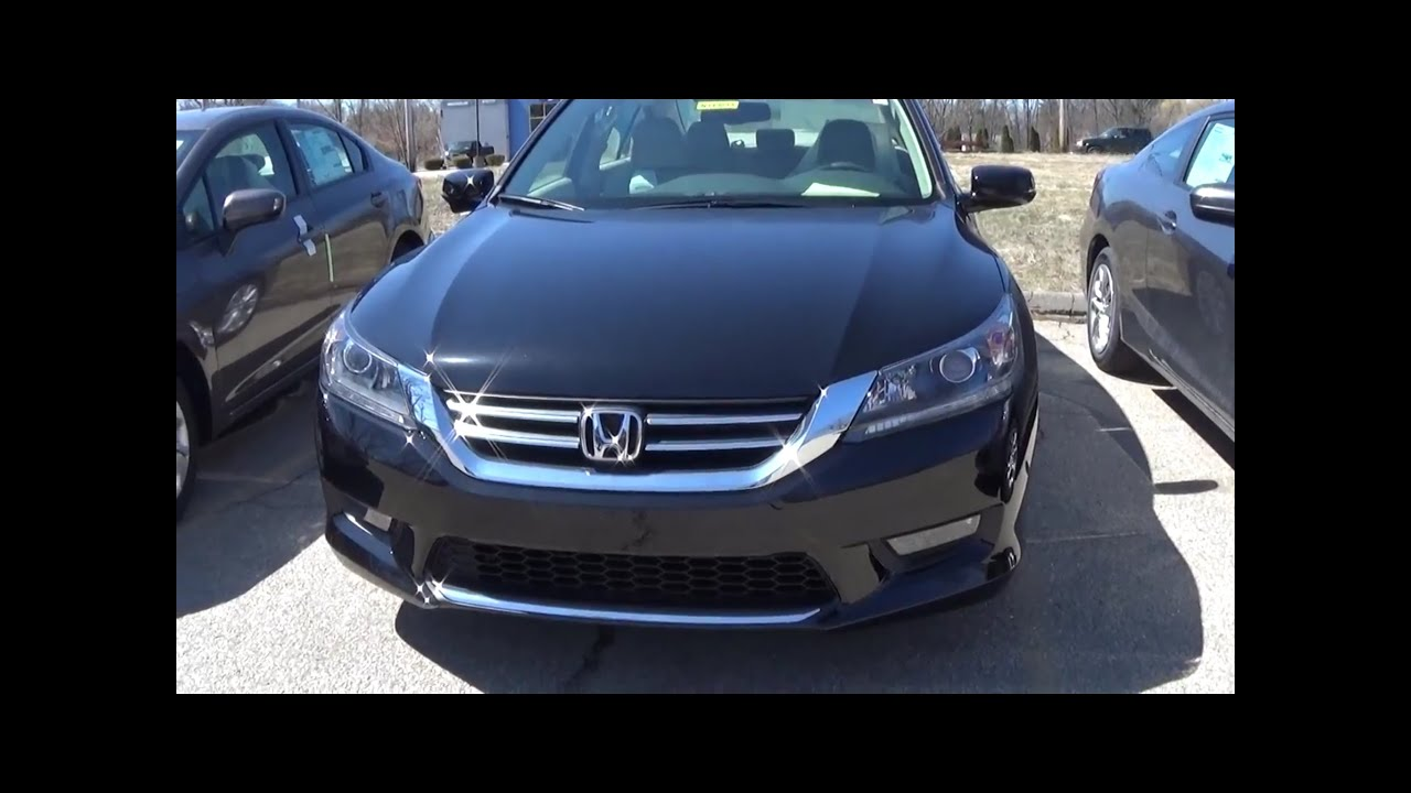 2014 honda accord ex l 4cyl walkaround engine full tour youtube. Black Bedroom Furniture Sets. Home Design Ideas