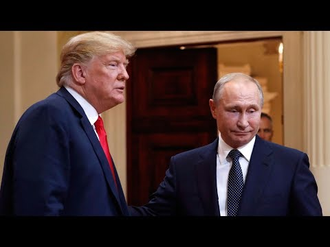 Putin\'s highly controlled image sharply contrasts the chaotic Trump brand