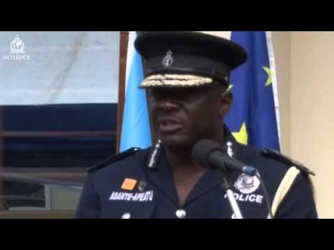 David Asante-Apeatu, Commissioner Of Police, Director General, R & P And ICT Of Ghana Police Service