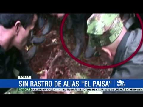 No hay rastro de 'el Paisa', jefe de la Teófilo Forero de las FARC - 19 de Marzo de 2015
