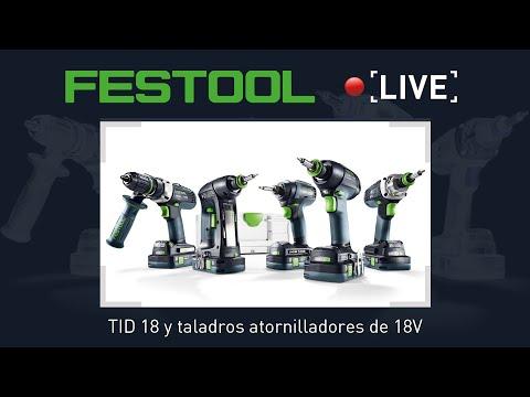 Atornillador de impacto TID18 | Taladros atornilladores a batería 18V | Review | Demo #2 Live
