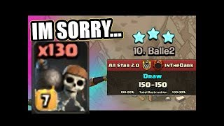 All Level 7 Wall Breaker Raid InTheDark vs All Star 2.0 | Troll Elite War Clash of Clans