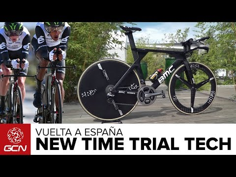 Cutting Edge Time Trial Tech | Vuelta A España 2017