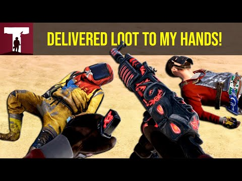 THEY DELIVERED LOOT TO MY HANDS! (Rust Solo) thumbnail