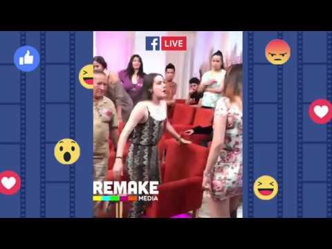 Daniela Y Jessica Se Pelean Con Nataly En El Corte Comercial /Enamorandonos