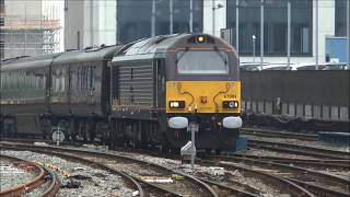 Royal Train, with HM the Queen, arrives at Cardiff. June 7th 2016