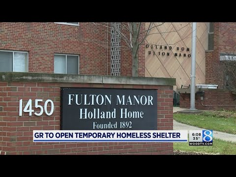 GR to open temporary homeless shelter