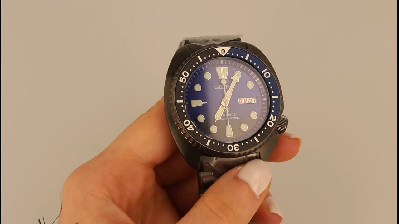 New Save Automatic Diver's Turtle Ocean Seiko Watch Srpd11k1 Prospex The dQoEeBWrCx