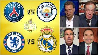 PSG vs Manchester City | Chelsea vs Real Madrid | Semifinales de lujo en la UCL. | Futbol Picante