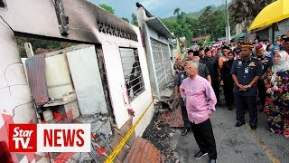 Agong: Assist Sungai Lembing fire victims to help rebuild their homes