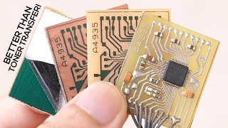 DIY PCBs At Home (Single Sided Presensitized)