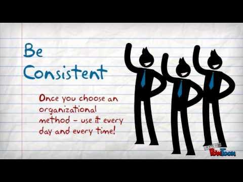 Organizational Skills - YouTube