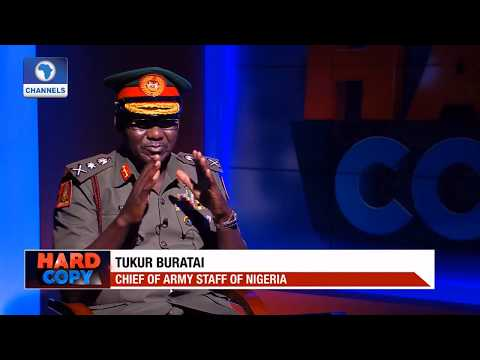LT GEN TUKUR BURATAI - Nigeria Chief of Army Staff Denies US Allegation of Deploying Child Soldiers