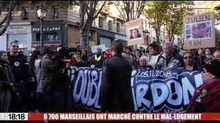 6 700 Marseillais ont marché contre le mal-logement