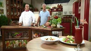 Премьерный выпуск: блюда из арбуза и дыни - Готовим вместе - Интер