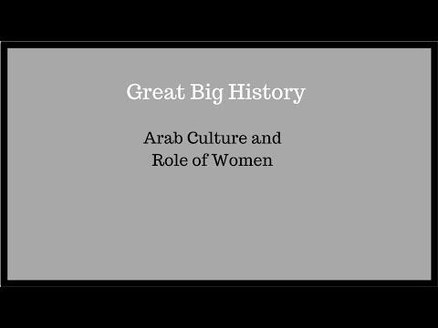 arabic islam culture role of women