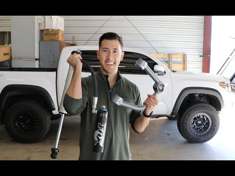 2017 Toyota Tacoma Unboxing The New Suspension: Total Chaos UCA, Fox 2.5 Ext Travel DSC & ARB Dakar