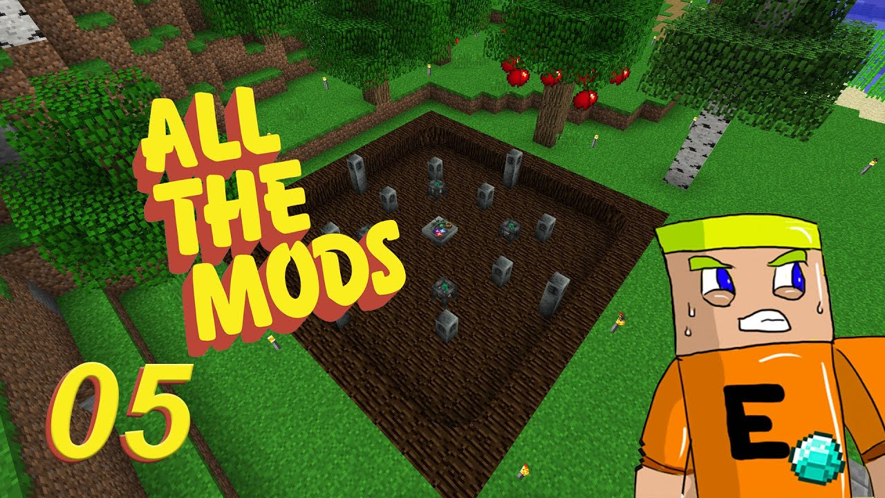 Refined Storage Automation and Processing - All The Mods Ep 05 - Sub Server  Play