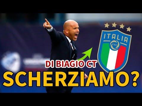 DI BIAGIO È IL NUOVO CT DELL'ITALIA: NON SCHERZIAMO!