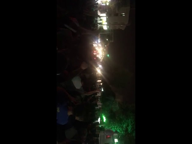 """TEHRAN, Iran, June 25, 2018. Protesters chanting:""""Death to Rouhani"""""""
