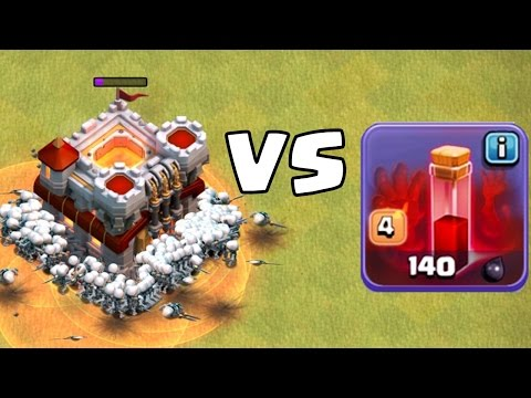 12 SKELETTZAUBER vs. RATHAUS! || CLASH OF CLANS || Let's Play CoC [Android iOS PC]