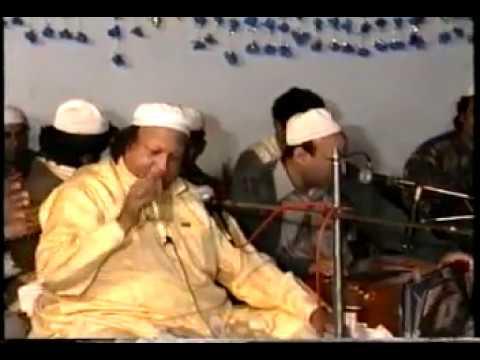 Sahib Tere Bandian Nusrat Fateh Ali Khan Last Show In Faisalabad