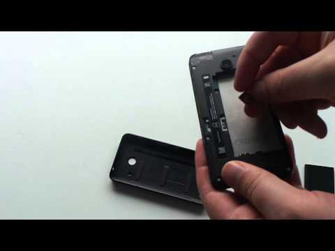 How to putt sim card in nokia lumia 635