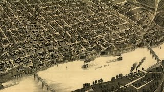 Little Rock Arkansas History and Cartograph (1887)