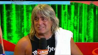 MOTORHEAD Live Rock In Rio 2011 Mikkey Dee Interview After Concert