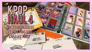 K-Pop/Photocard Unboxing & Haul # 4 | BTS & Blackpink | + HOW I STORE/ORGANIZE MY PHOTOCARDS