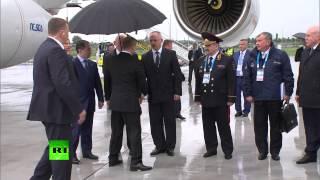 Владимир Путин прибыл в Уфу на саммиты БРИКС и ШОС