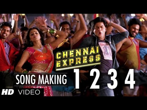 1234 Get on the Dance Floor Song Making Chennai Express  Shah Rukh Khan & Priyamani