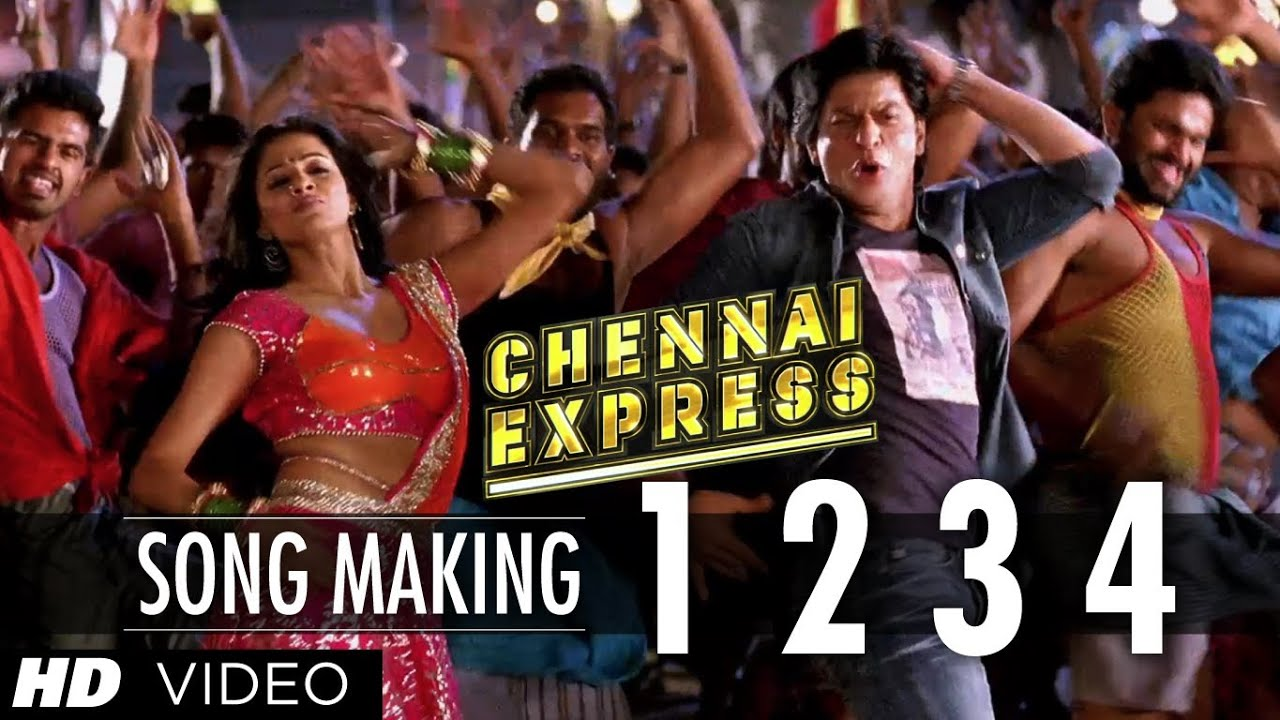 1234 get on the dance floor song making chennai express