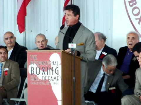 Sylvester Stallone: 2011 International Boxing Hall Of Fame