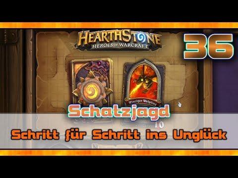Schatzjagd - Schritt für Schritt ins Unglück ✨ HEARTHSTONE #36 [Facecam Gameplay Deutsch German]