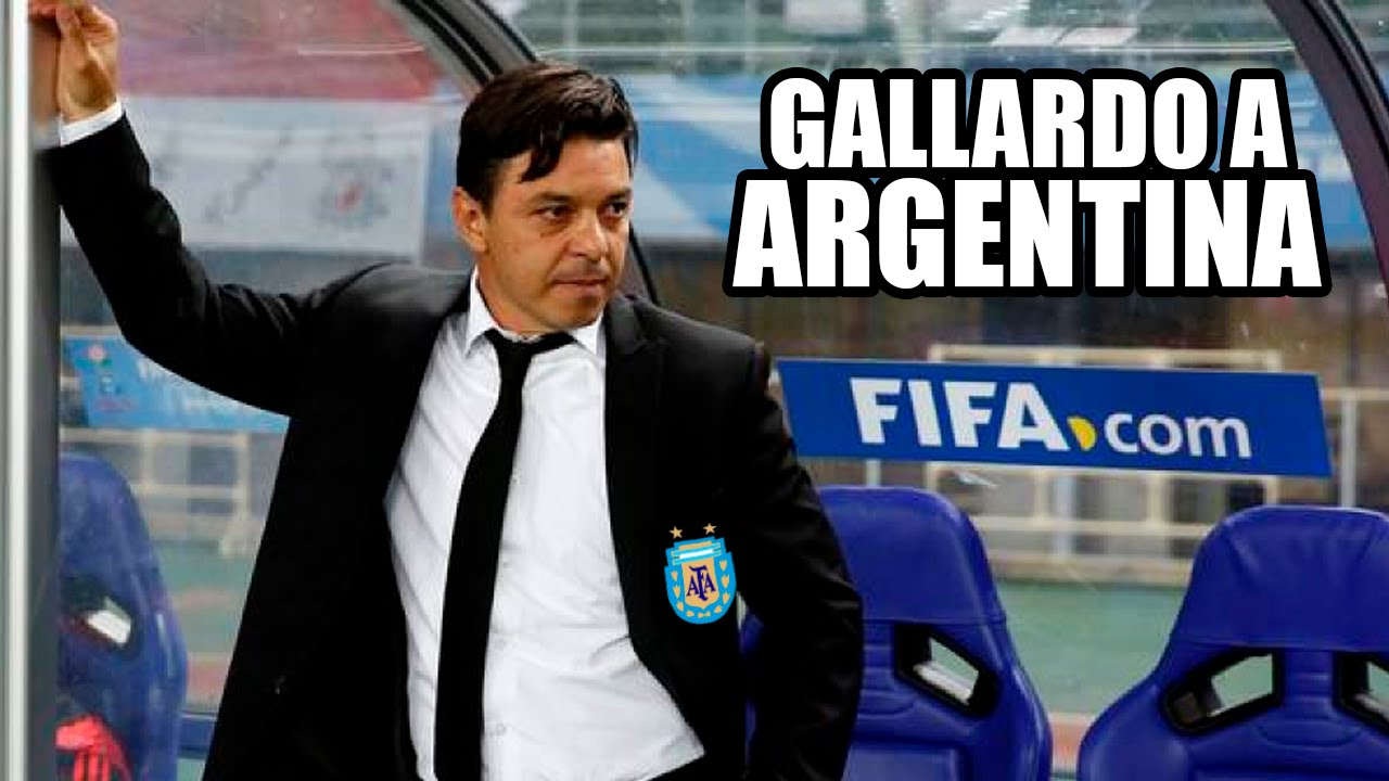 Tras el 6 a 1, juntan firmas para que Gallardo dirija la Selección