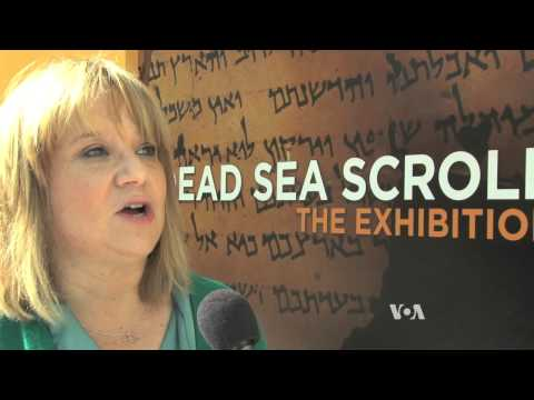 California Science Center Tells Story of Ancient Scrolls