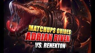 Adrian Riven vs RTO Renekton Matchup