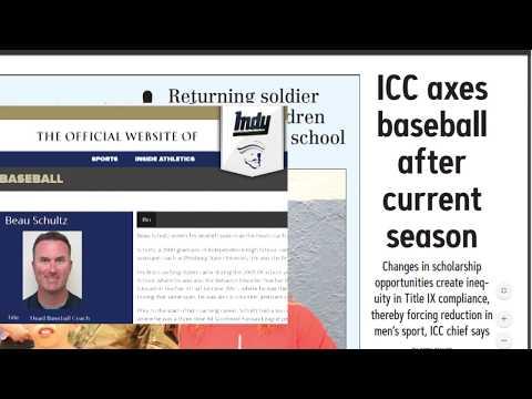 ICC Baseball Cancellation Protests