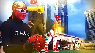 Bandit & NaDeXe vs GHerbs & AiGoat TG! Best Of 3! Park vs Stage Players! NBA 2K19!